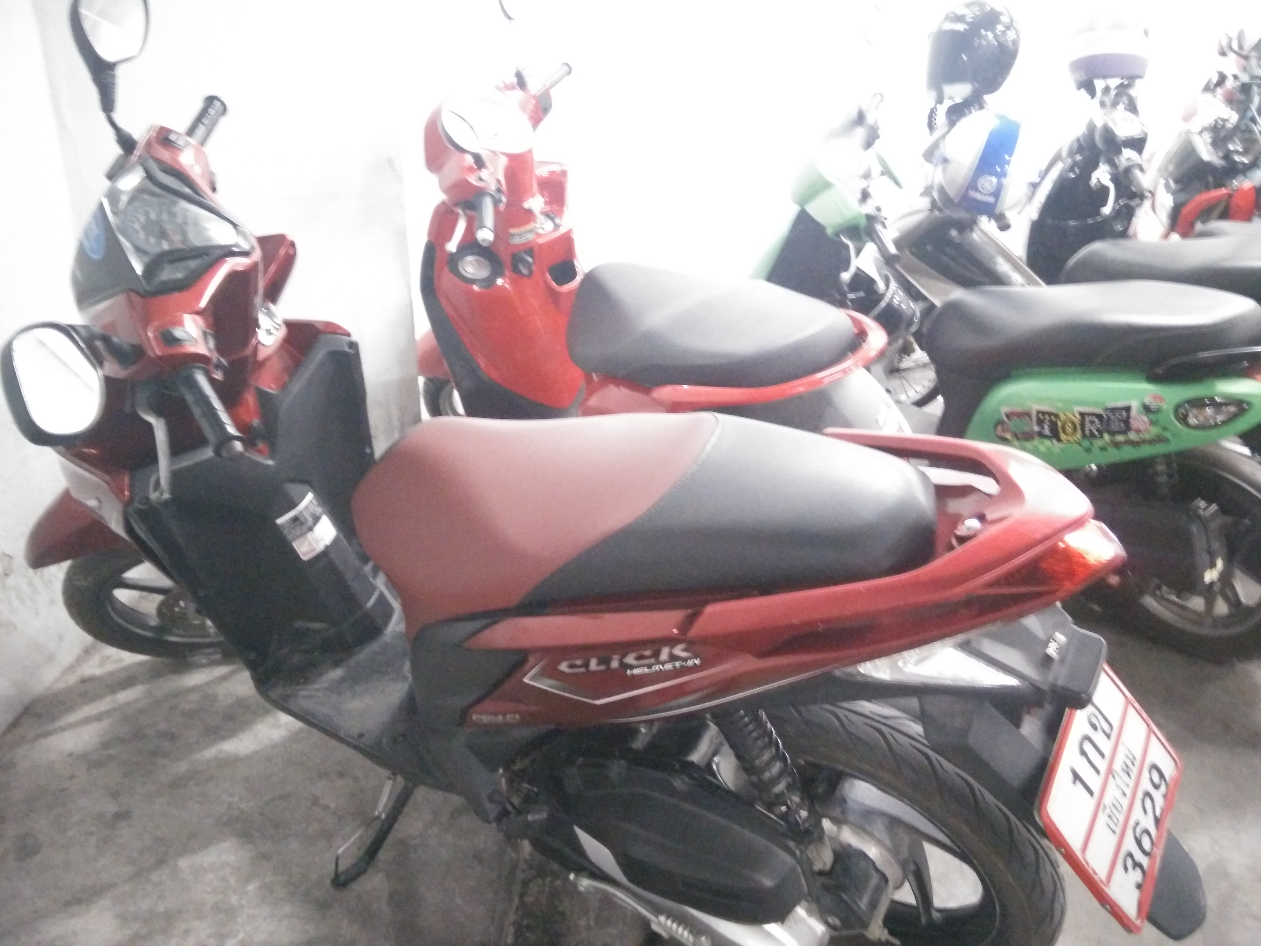 scootere i thailand