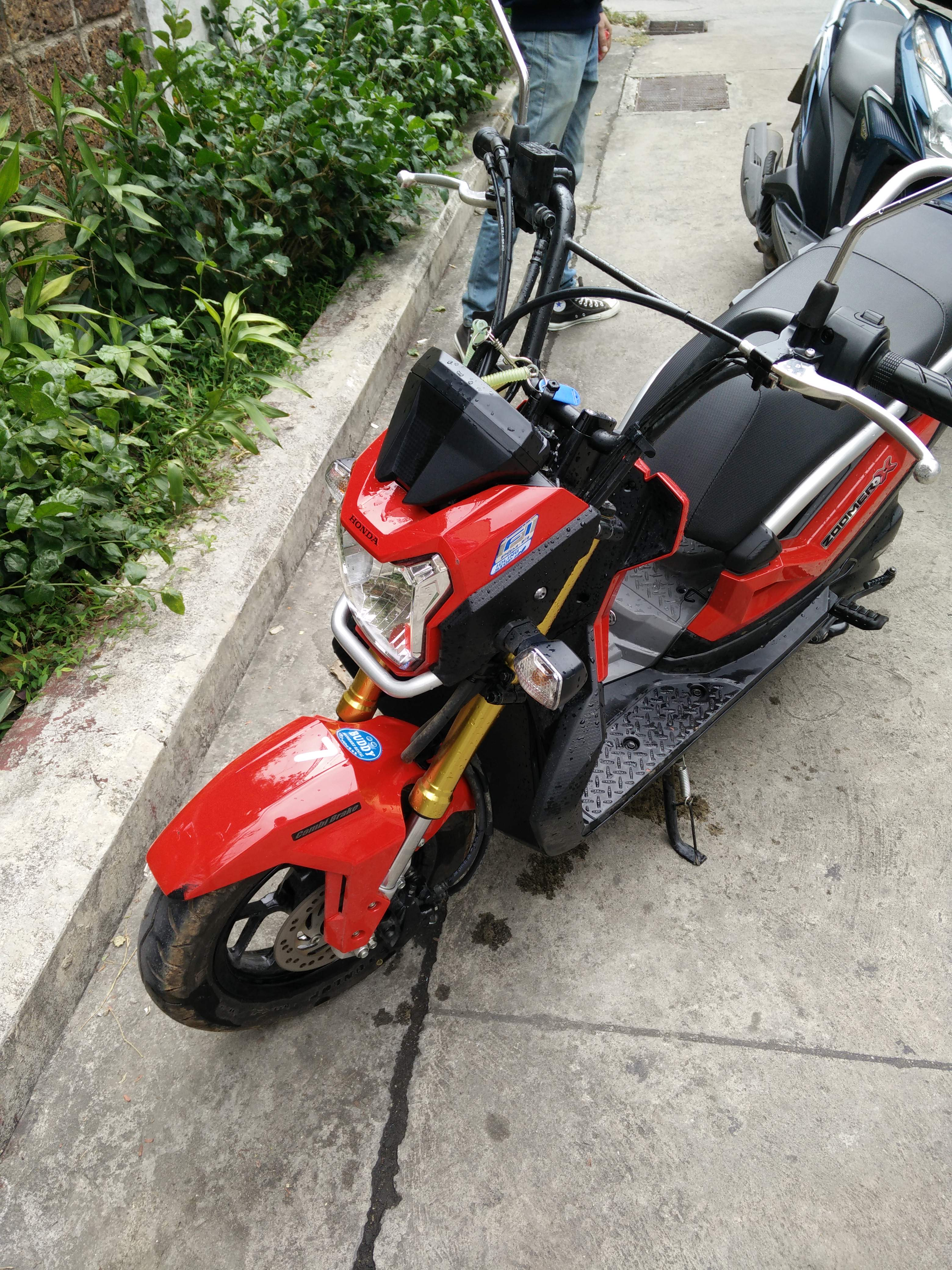 Scooter i Thailand